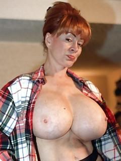 BBW boob mama enorme tit